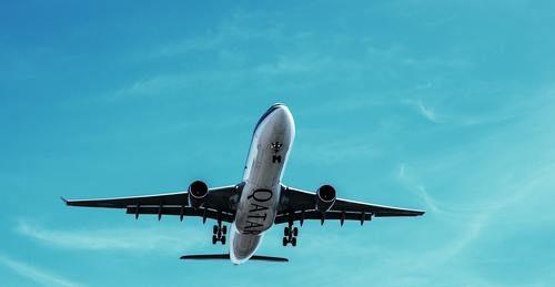 déménager à l'étranger par avion
