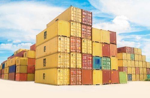Internationale Umzugskosten mit Container